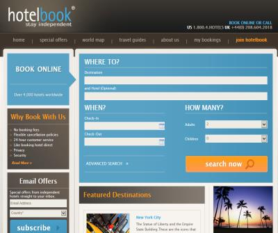 Hotelbook - Book Cheap Hotels Online