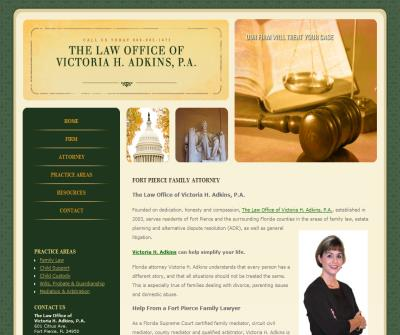 The Law Offices of Victoria H. Adkins, P.A.