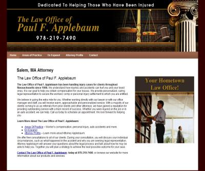 Law Office of Paul F. Applebaum