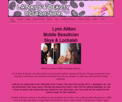 LA Nails & Beauty - Mobile Beautician