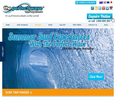 The Perfect Wave - Surf Travel - Surf Adventures, Surf Trips, Boat Charters
