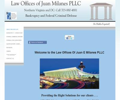 Abogados de Quiebras y Casos Federales-Bankruptcy & Federal Cases (The Law Offices of Juan Milanes)