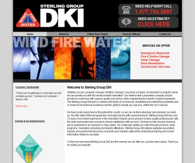 Damage Restoration and Reconstruction Provider, Sterling Group DKI