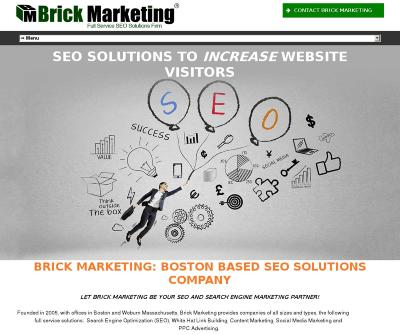 Brick Marketing Internet Marketing Company SEO services, PPC Management, Social Media Digital Specialists Boston MA