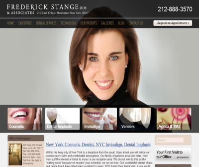 Manhattan Cosmetic Dentist – Fred Stange DDS