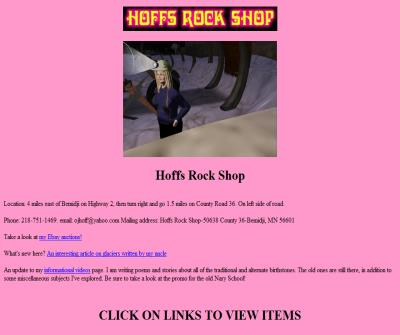 Hoffs Rock Shop