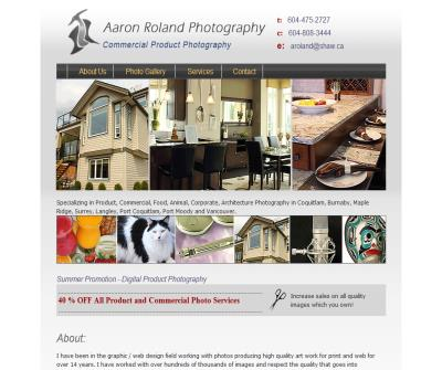 Aaron Roland - Commercial / Product Photographer