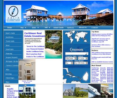 Caribbean Real Estate | Villas | Homes | Land | Investment Properties | Sales & Rentals in 12 Caribbean Islands