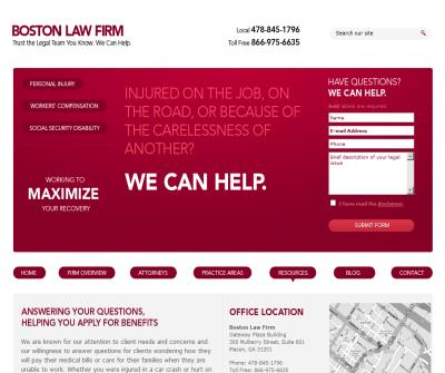 Boston Law Firm