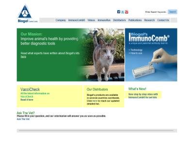 Biogal - Veterinary supplies, antibody test, diagnostic kits