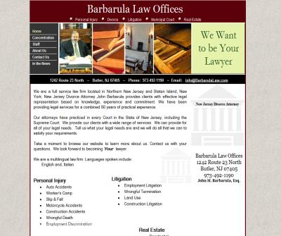 New Jersey Attorney -- Divorce, Wrongful Termination