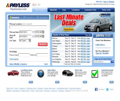 Discount Car Rental and Cheap Rental Cars