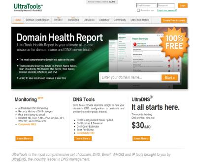 Ultra Tools - Domain Health Report