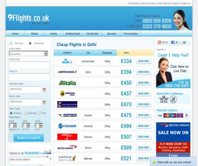 Cheap Flights to Delhi, Cheap Tickets to Delhi, Compare Delhi Flights