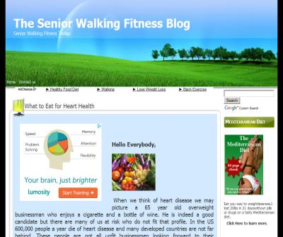 The Senior Walking Fitness Blog