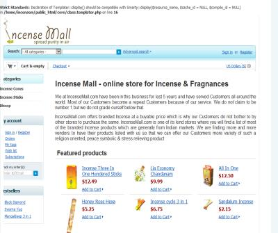 Incense online aromatic fragrance.