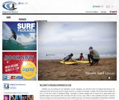 surfing in morocco with surf school - original surf morocco
