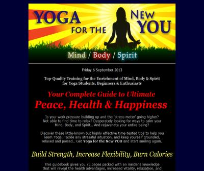 Top-Quality Training for the Enrichment of Mind, Body, and Spirit for Yoga Students and Beginners