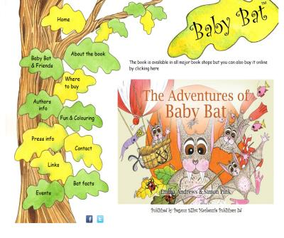 Baby Bat - Children's book