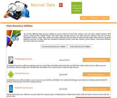 free file recovery utilities