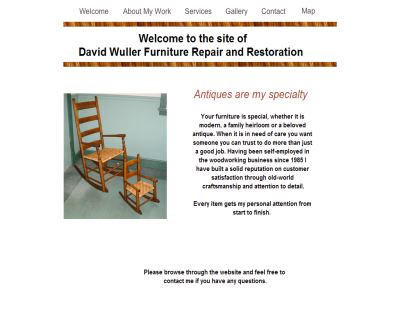David Wuller Furniture Repair and Restoration