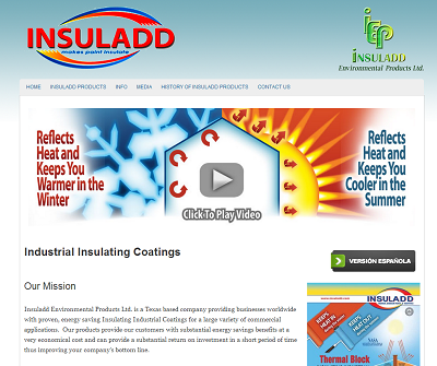 Insuladd Thermal Barrier Paints and Paint Additives