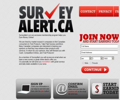 Canada's Best Paid Survey Online