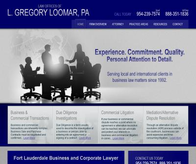 Law Office of L. Gregory Loomar, P.A.