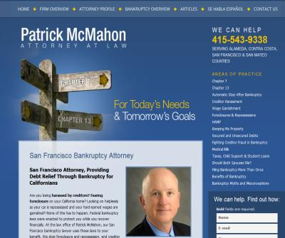 Patrick McMahon Attorney at Law
