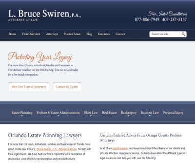 L. Bruce Swiren, P.A. Attorneys at Law