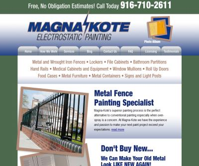 Magna-Kote Electrostatic Painting