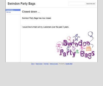 Swindon Party Bags