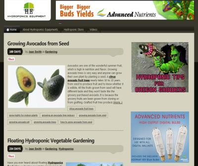 Hydroponics  Equipments, Hydroponics Equipment, Gardening Equipments
