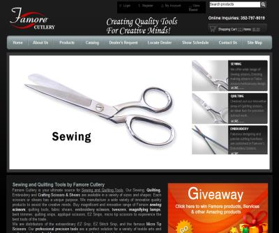 Sewing Scissors-Quilting Scissors-Fabric Shears-Embroidery Scissors