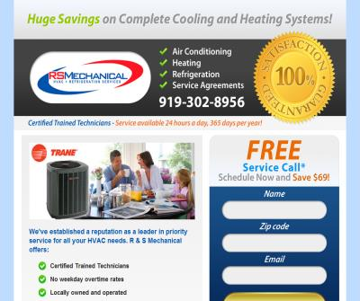 Top Heating and Air Conditioning Units in Raleigh