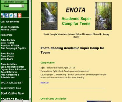 Enota Photo Reading academics