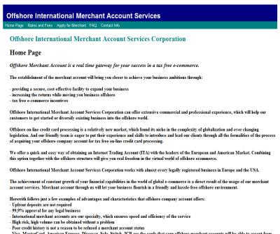Offshore Banking Account