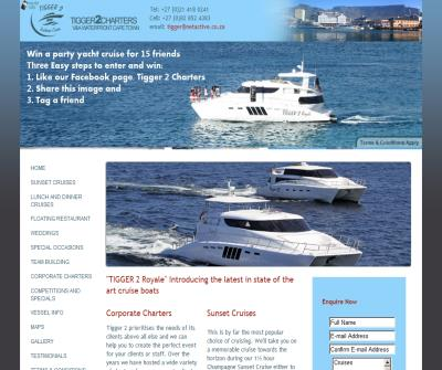 Boat Charter in Cape Town