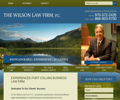 The Wilson Law Firm, P.C.