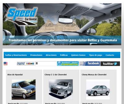 Speed Car Rental. Rent a Car in Cancun