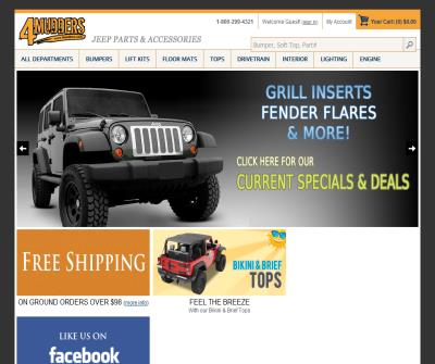 4Mudders Jeep Parts