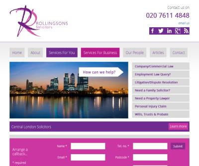 Rollingsons Solicitors Lawyers