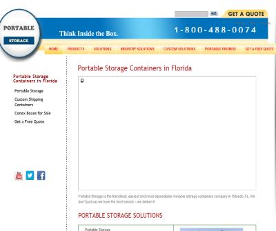 Portable Storage Containers Florida