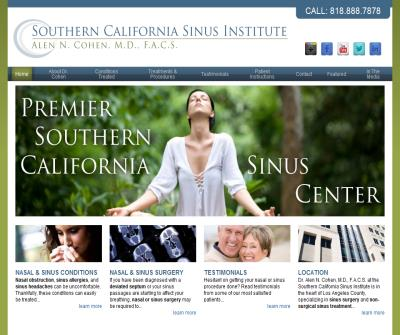 Sinusitis Studio City
