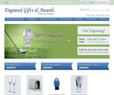 Engraved Gifts and Awards