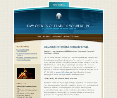 Law Offices of Elaine S Vorberg, P.C.