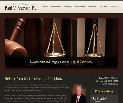 The Law Offices of Paul V. Moyer, P.L.
