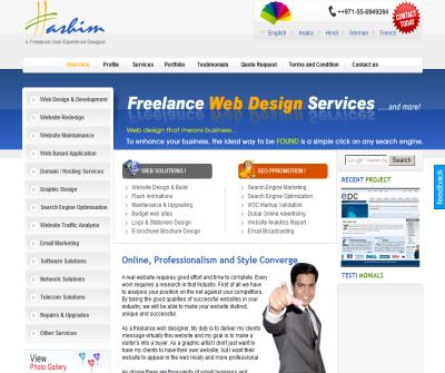 Freelance Web Designer Dubai UAE Middle East