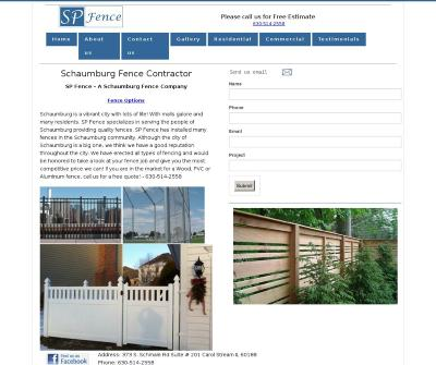 Schaumburg IL Fence Contractor
