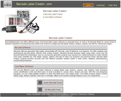 barcode creation